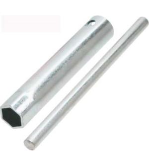 Chiave candela a tubo con spina 18X100