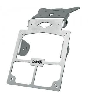 Lampa Xtreme, portatarga universale - Alluminio