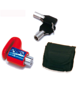 Micro disc lock perno 6mm con borsa