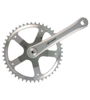 Guarnitura alu prowheel corona acciaio 46x170 attacco quadro
